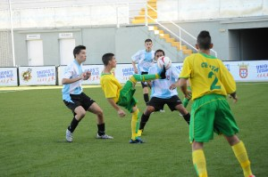 El 'Goyu' ya jugó la semana pasada en el Alfonso Murube.