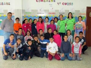 El 'Proyecto Taconazo' ha visitado, entre otros, el CP Príncipe Felipe