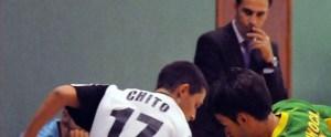 Chito ha anotado uno de los goles unionistas ante el Almendralejo