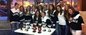 Plantilla del CN Caballa femenino esta temporada