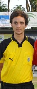 Ángel Munuera Montero es un joven colegiado de 21 años.
