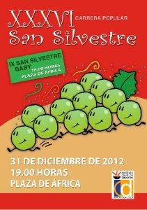 Cartel de la San Silvestre 2012