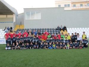 La Escuela de Fútbol Sala también se ha ejercitado en el Murube