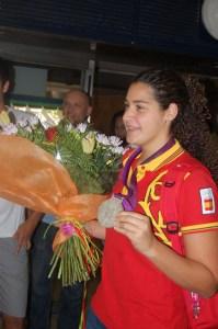 Lorena Miranda nunca olvidará los Juegos de Londres donde España logró la medalla de plata