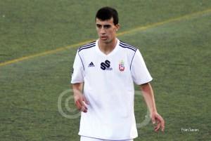 Ismael fue el ceutí que recibió un insulto racista del jugador del Alcalá expulsado.