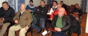 Un momento de la reunión celebrada esta tarde en el Parador La Muralla