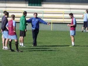 José Mateo ha preparado con mimo el partido del Atlético de Ceuta