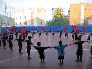 Los más pequeños se divierten en las escuelas de fútbol 8 y fútbol sala