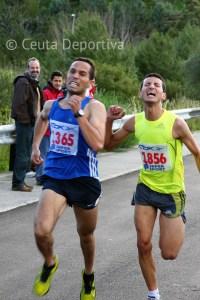 Mustafa Al-Lal fue segundo tras vencer al sprint al marroquí Kajoune