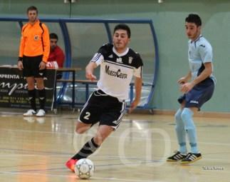 Cristian ha marcado uno de los seis goles del Ceutí FS en Montijo