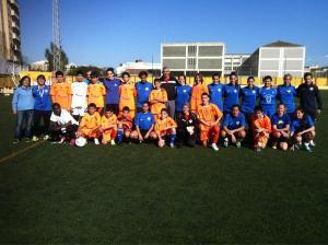 El Carmelitas y el Natación jugaron este sábado un partido amistoso en el Benoliel