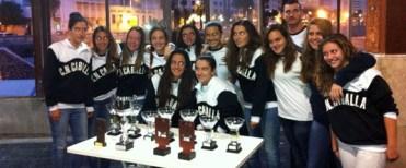 El CN Caballa femenino vuelve a competir tras más de un mes y medio de parón