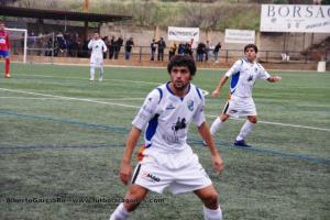 Carmelo estaba jugando en el grupo aragonés de Tercera División con la SD Borja