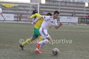 Ismael, que en Montilla jugó en la segunda parte, será baja este domingo
