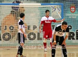 El portero del Ceutí FS Nono Ramírez se pierde el partido por motivos de estudios