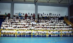 Foto de familia del II Encuentro Baloncesto y Mujer, celebrado el pasado año