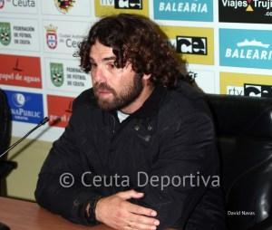 Juan Pedro Ramos dirigió su último partido en el Alfonso Murube
