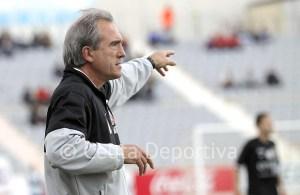 Andoni Goikoetxea, en su etapa como entrenador de la extinta AD Ceuta