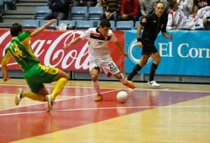 Hamza Maimon accede a las semifinales de la Copa de España con el Santiago Futsal