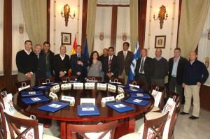 Técnicos de los siete municipios que participan en los Juegos han asistido a la reunión en la que se ha constituido el Comité Organizador