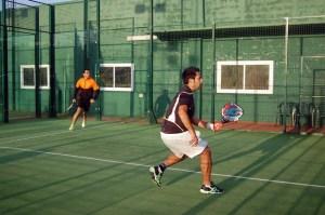Imagen de uno de los partidos del anterior Torneo de Invierno organizado por el Club Loma Margarita