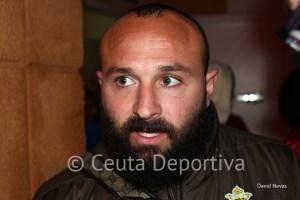 Pepe Martínez es uno de los veteranos de la plantilla del Atlético de Ceuta