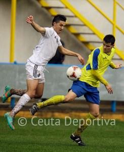 Perita se dejó ver en la primera parte y participó en el gol de Perita