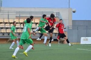 Gregorio Molina, que es el máximo goleador del Ayamonte con 7 goles, no estará en el Murube