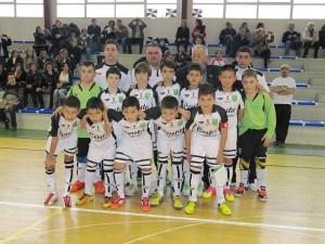 Selección de Ceuta alevín de fútbol sala que participó en el Campeonato de España 2013