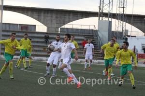 El Atlético de Ceuta había encajado sus últimos goles en Montilla donde perdió por 3-0