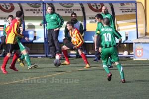 El Ramón y Cajal empató en la última jornada con el Atlético de Ceuta B y es quinto en la tabla