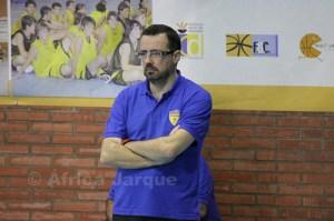 El entrenador del CB Juventud, Juanma Delgado, espera que su equipo se divierta sobre la cancha