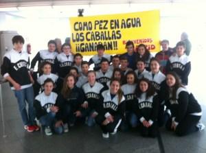 Los equipos de la Federación de Ceuta, en Madrid