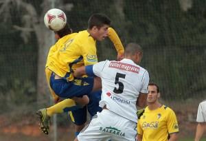 El Cádiz B y el Atlético de Ceuta empataron a uno en la primera vuelta