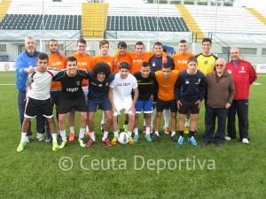 El Ceutí disputó un partido amistoso contra los veteranos de la Balompédica Ceutí