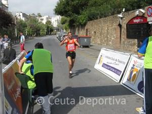 Souleiman Karrouch cruzó tercero la línea de meta