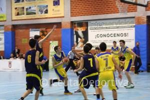 Jorge Ríos lideró el ataque del CB Juventud con 26 puntos