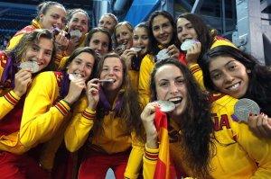 La selección femenina tocó el cielo en Londres al colgarse la medalla de plata