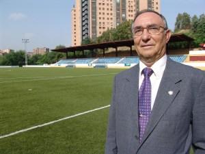 Vicente Temprado, presidente del Comité Nacional de Fútbol Femenino y de la Federación de Fútbol de Madrid