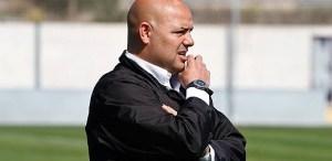 Cándido Rosado, entrenador del Recre B