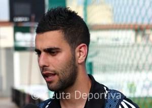 José Carlos Segura está contento en lo personal con esta nueva experiencia en Tercera