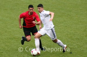 Mohamed 'Topo', durante el partido del pasado domingo frente al Ayamonte