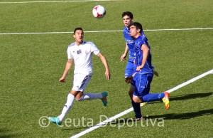 El Atlético de Ceuta sufrió una dolorosa derrota en su última cita en el Murube