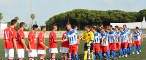 El Racing Portuense afronta con los deberes hechos las últimas jornadas de Liga. Web R.C. Portuense