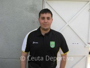 Mohamed Mohamed, entrenador del Puerto Disa, valora el gran trabajo de su equipo en el play off por el título