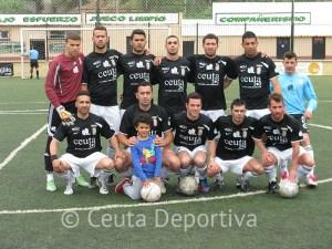 El Atlético de Ceuta B, líder durante muchas jornadas, cerró la Liga con sus dos únicas derrotas