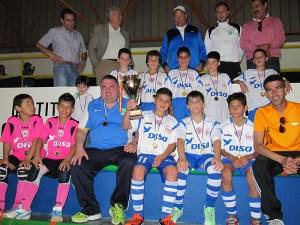 El CD Puerto benjamín disputará la fase previa del Nacional en el polideportivo La Libertad
