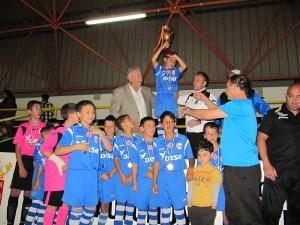 El Puerto Atlético se coronó campeón en la categoría alevín