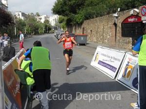 Una imgen de la Vuelta a Ceuta, la última prueba atlética organizada por el ICD