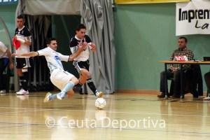 El CD Ategua cayó recientemente ante el Ceutí FS por 3-0